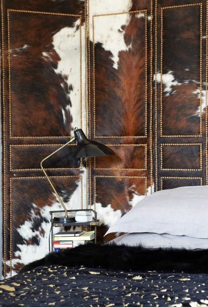wow!: Cowhide Wall, Folding Screens, Design Ideas, Cowhide Screens, Interiors Design, Creative Director, Cows Hiding Furniture, Cowhide Bedrooms, Wall Design
