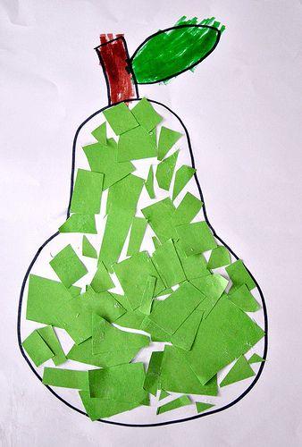 Peer - Stukjes papier kleven