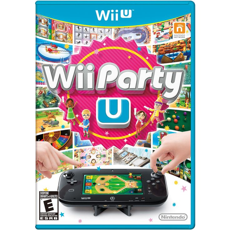 Wii Party U - Game Only (Wii U, 2014) Party at our Pad tonight! Enjoy board games and mini-games on the TV, play familiar tabletop games using the Wii... #only #game #party