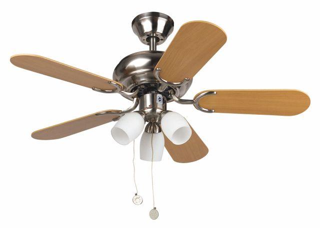 Ventilador de Techo con luz madera #ventiladores #decoracion #verano #climatizacion #calor #ventilacion #diseño #aire