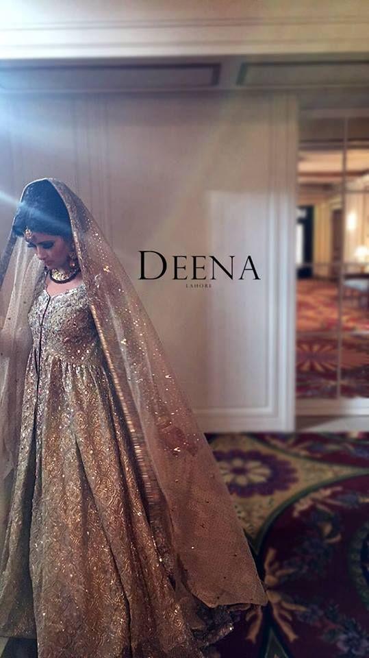 It's like a princess ball gown wedding dress but desi!!