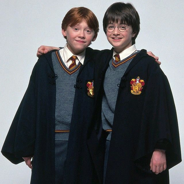 Ron And Harry Potter Harry Potter Ron Harry Potter Film Harry Potter Pictures
