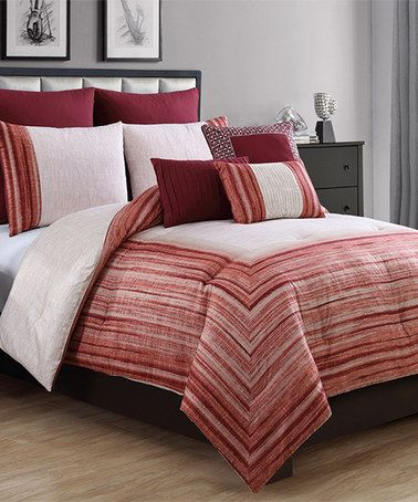Another great find on #zulily! Rust Legacy Bedding Set #zulilyfinds