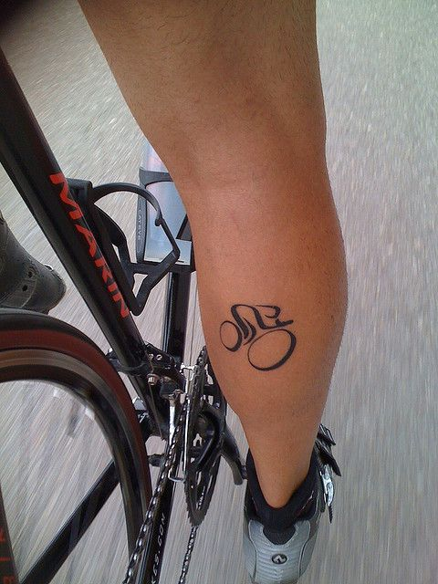 Russ McCoy, Albuquerque, NM by Squirrels Cycling Tattoo Collection