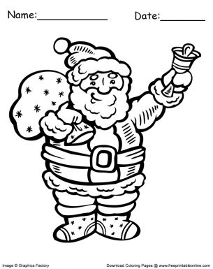It Looks Like Youre Interested In Our Santa Bells Christmas Coloring Pages We Also Offer Many Different On Site