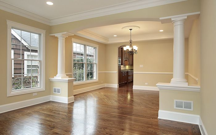 Using Columns To Divide Rooms And Flexible Fiberglass Columns Are A Great Way To Divide A