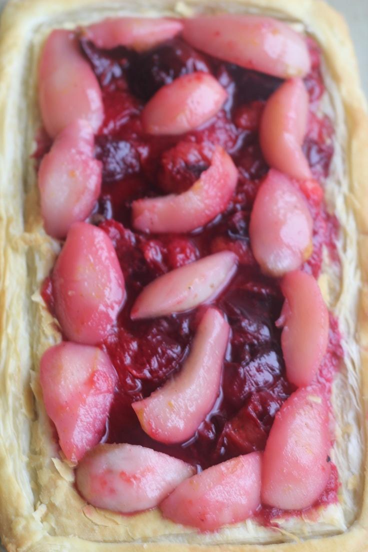 Autumn Tarts - Plum and Pear & Apple Galettes