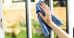 DIY-schoonmaakmiddel voor ramen en spiegels