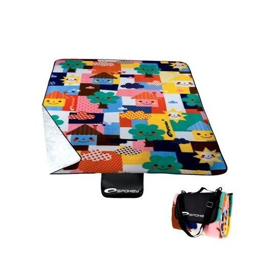 Pikniková deka s farebným motívom