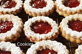Image result for linzer cookies