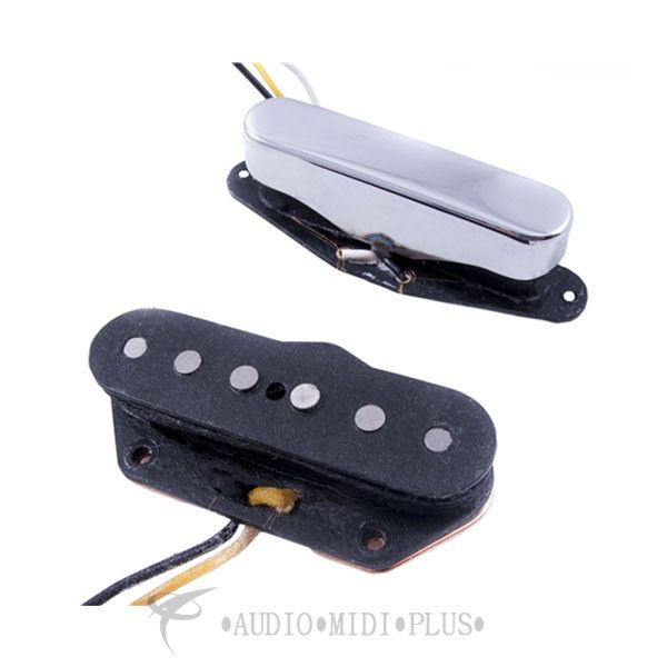 Fender Pickups & Preamps Twisted Telecaster Pickups Black/Chrome - 2 - 0992215000
