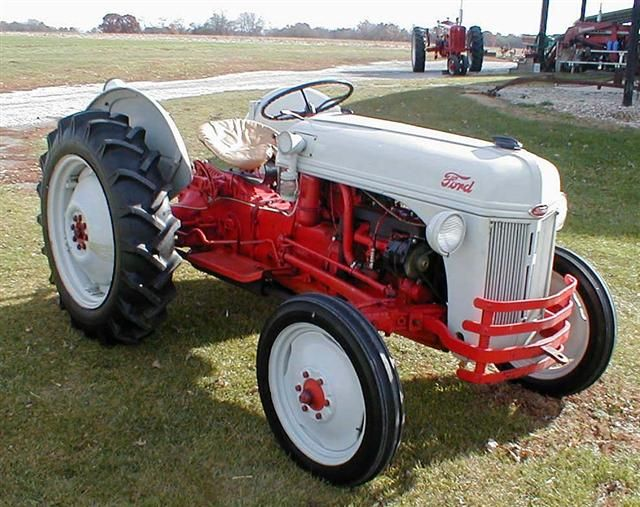 Antique Tractors Ford 9n : Classic ford n tractor for sale with point hitch