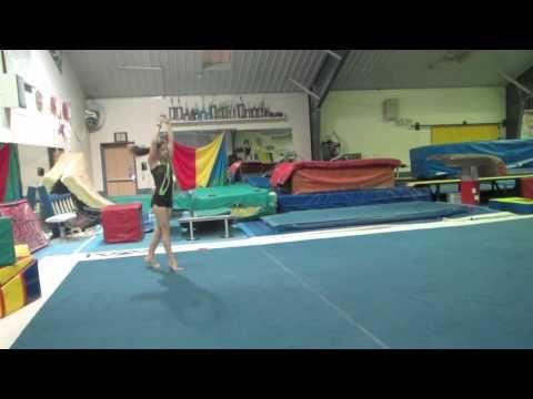 USAG Level 2 Gymnastics Floor Routine