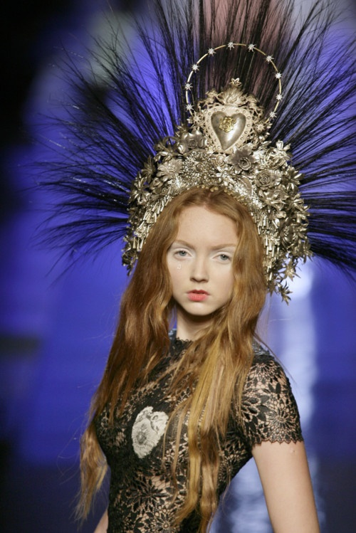 Jean-Paul Gaultier crown