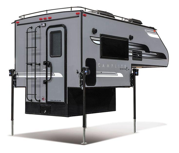 2018 Livin' Lite CampLite 6.8 Truck Camper Exterior