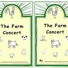 An emergent reader based on the text The Farm Concert by Joy Cowley. Students print the farm animal names and color. A perfect companion for Litera...