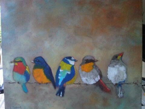Birds by Christine Joubert