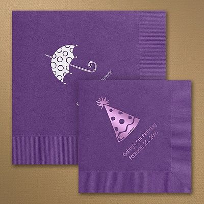 Purple Add A Special Touch To Any Occasion With These Soft Three Ply Napkins Available In Beverage And Luncheon Size Variety Of Colors
