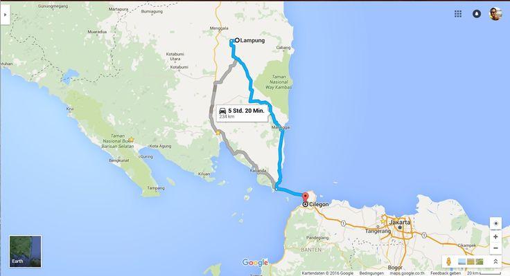 8. Автостопом с Бали в Германию 10-11 д   Индонезия, Cilegon - Lampung S...