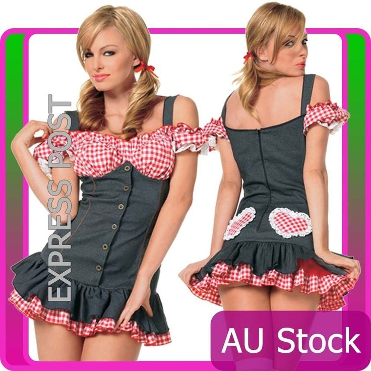 Ladies Sexy School Girl costume Teachers Pet Fancy Dress Hens Night Outfit #CompleteCostume