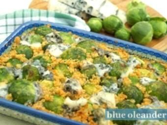 Brussels sprouts with gorgonzola