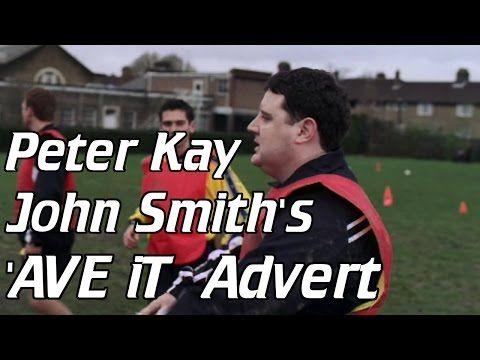 Peter Kay John Smith's Advert Avit Football - YouTube