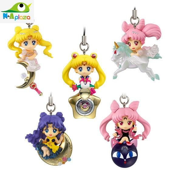 Anime Twinkle Dolly Sailor Moon Serenity Candy toys Part.3 10 PVC Action Figure Collection Model Kids Toy Doll Mobile Strap