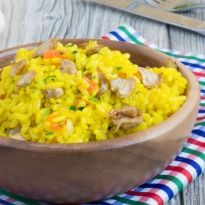 Cook up some home comfort with this Ayurvedic khichdi recipe of rice and moong dal.