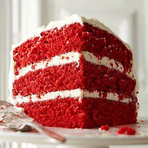 Homemade Red Velvet Cake (via Parents.com)