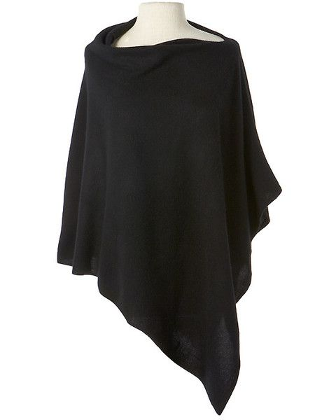 The Captiva Cashmere Cape  Liana $340 Over black sweater, over dresses, with shiny blue jeans