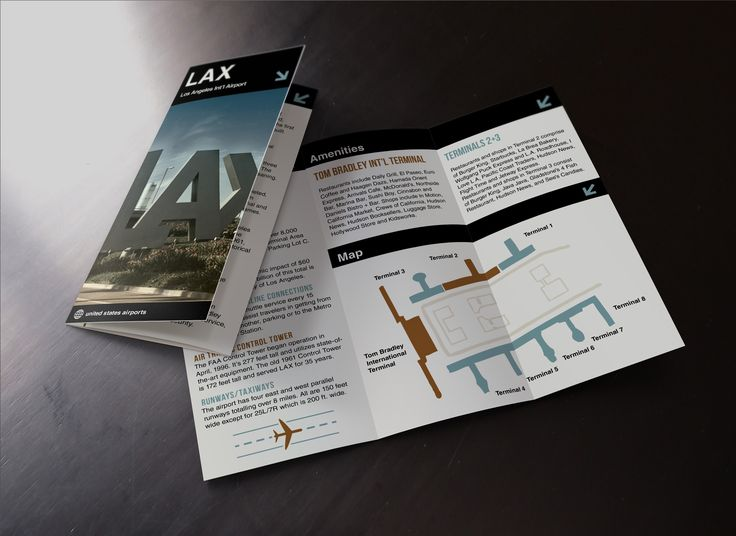 Free Tri-Fold Brochure Mock Up 3fold brochures Pinterest Tri - folded brochure