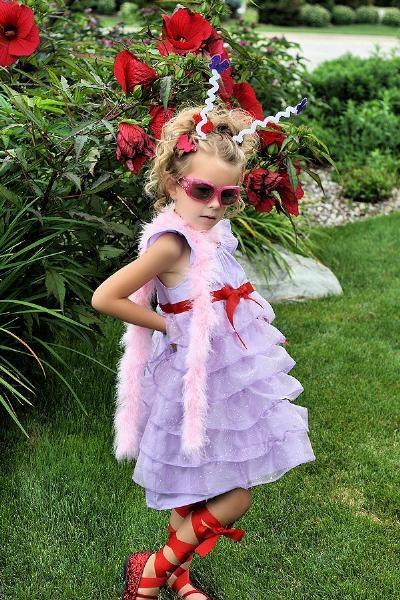 Fancy Nancy Costume Idea