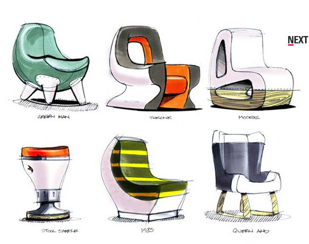 2275 best sketching design rendering images on pinterest for Industrial design chair