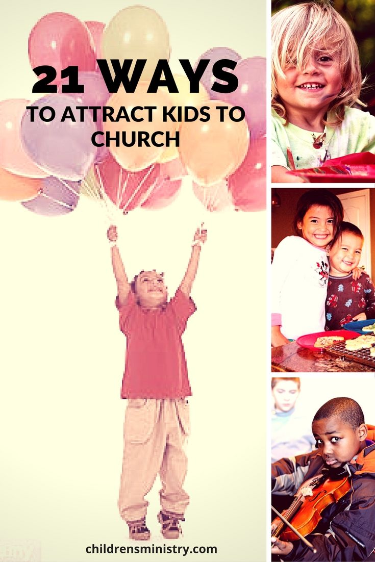 These are awesome ways to invite more kids to our church!