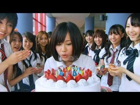 "ViDEO★ AKB48 ~ Japanese pop idol band ♪ ""Namida Surprise!"" PV (music video) with English subtitle lyrics in Closed Captions ~ released in 2009  ***this video is blocked from non-Japanese viewers from watching, watch it here: http://www.unblockyoutube.co.uk/permalink.php?url=d5D4zsG3n1yrwOe1CfU%2FGgpOMVqlAOKvGJhJyUWKE09xrmwyfp9UszUMmJb7rz58lMnlyK%2BjitidMvdsCd%2BtREOMUlMcbsJC7%2FUVvqA%2BqJ7KXWyJ8PoKiAhfOoRmWCE%2B"