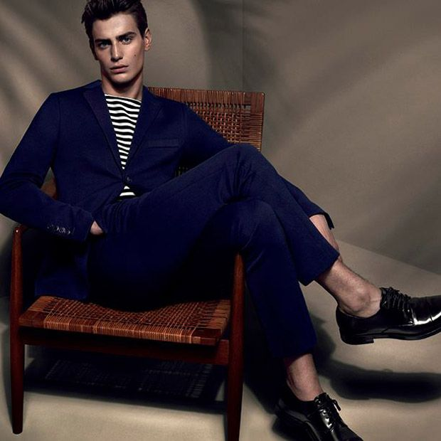 Gucci enlists top model Ben Allen and up and comer Mihai Bran for their Cruise 2015 campaign shot by fashion photography duo Mert Alas and Marcus Piggot
