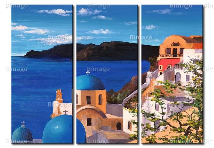 Tableau Santorini II
