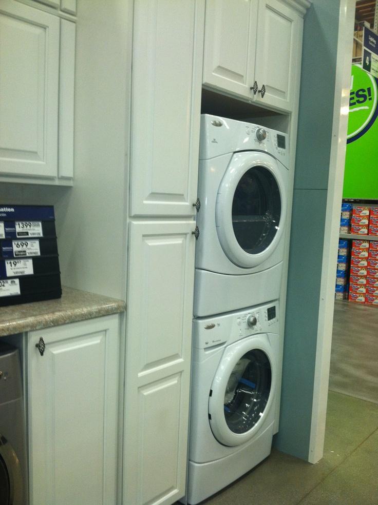 17 best images about washer dryer ideas on pinterest. Black Bedroom Furniture Sets. Home Design Ideas