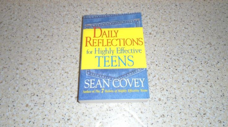 Daily Reflections for Highly Effective Teens Sean Covey paperback FREE US SHIP!