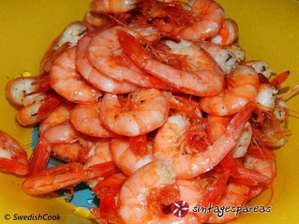 Γαρίδες τηγανητές #sintagespareas #garidestiganites