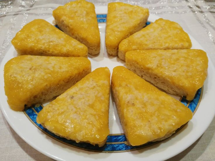 Tarta de avena manzana/mango