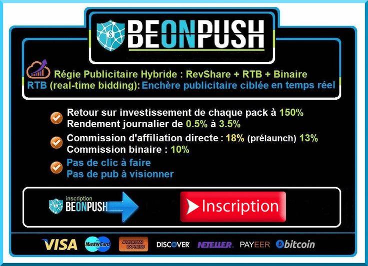 BeonPush Présentation - Capital Affaire