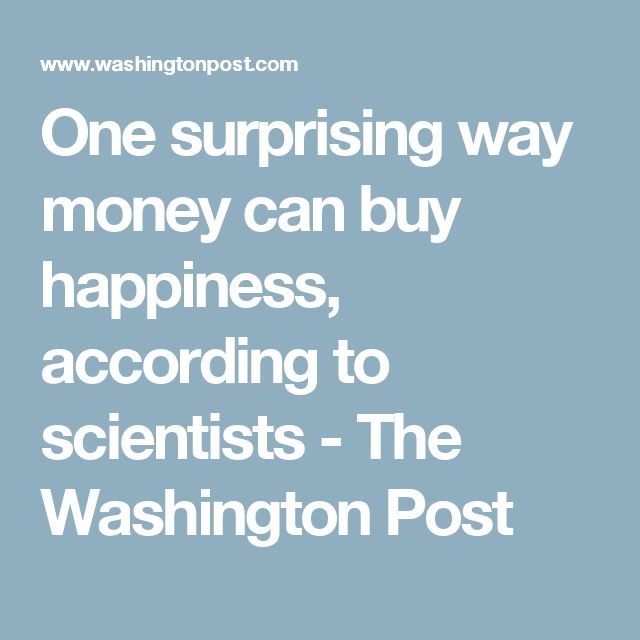 an analysis of the popular phrase money can buy happiness That's where the money can buy happiness phrase comes in because people believe that since money can buy everything it can buy happiness too however, i disagree and believe that happiness primarily comes from relationships.