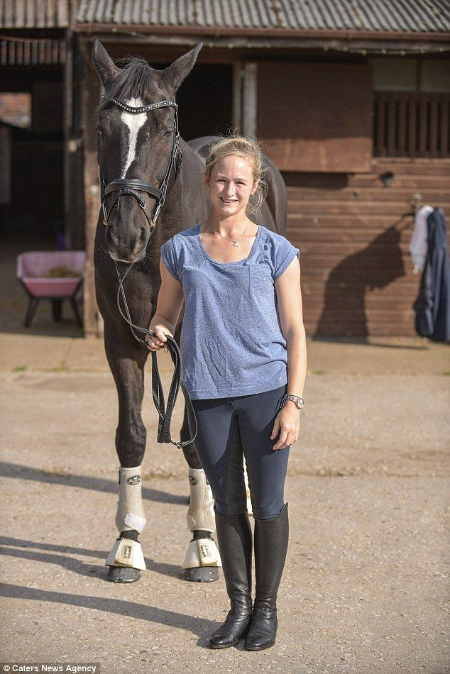 Team GB horse rider, Lucy Phillips was with 18-year-old Pitucelli when the…