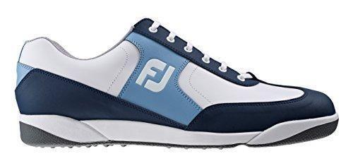 Oferta: 105€. Comprar Ofertas de FootJoy AWD XL Casual - Zapato de golf para hombre, color azul marino / blanco / azul cyan, talla 39 (M) barato. ¡Mira las ofertas!