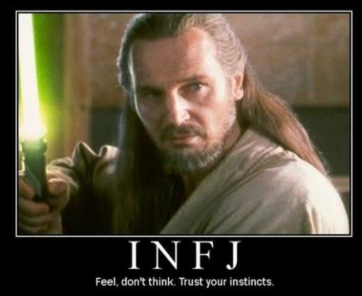 INFJ, intuitive, feelers, funny people, smart people, Myers Brigg, Billy Crystal, Jamie Foxx, humanitarians, counselors, super creative people, you know.