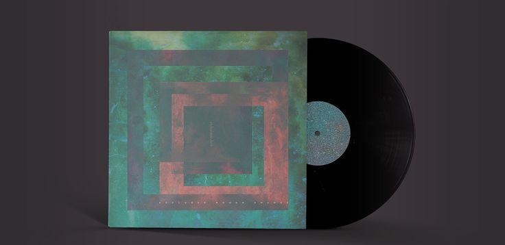 Tutorial: Creating an abstract vinyl sleeve with graphic textures (by @Maarten Boerma Boerma Kleyne on @Go Media's Zine.)