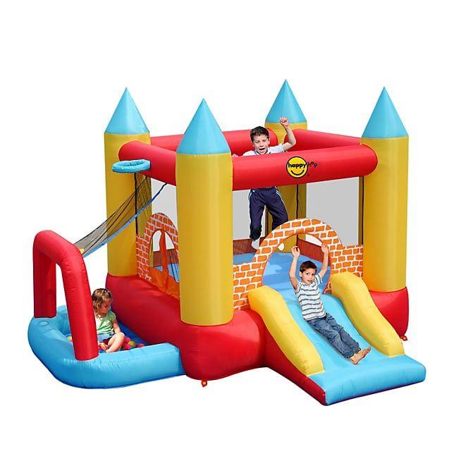 Les 10 meilleures id es de la cat gorie trampolines sur pinterest trampolin - Chateau gonflable happy hop ...