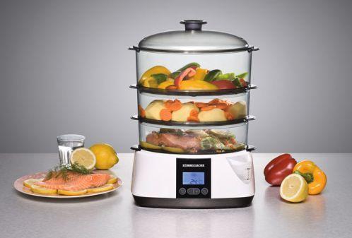 Vitaminschonendes und schmackhaftes Kochen mit dem Dampfgarer