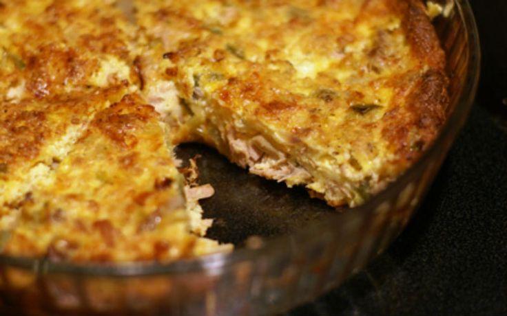 Torta de atum Dukan super fácil de preparar                                                                                                                                                                                 Mais